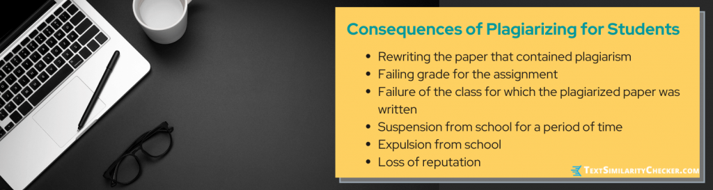 consequences of plagiarism for students